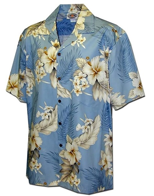 Plumeria Hibiscus Hawaiian Shirt by Pacific Legend